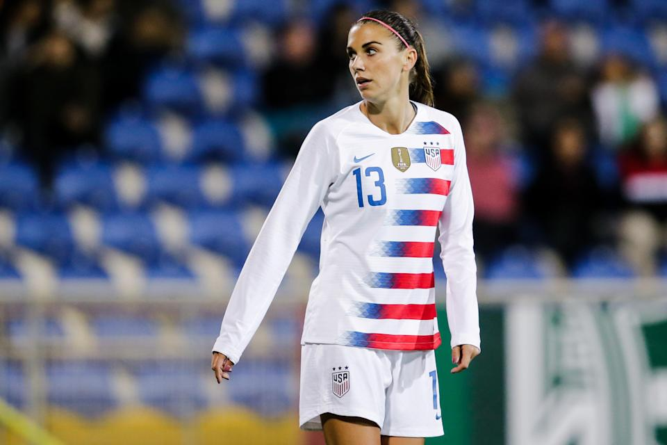 Can Alex Morgan lead the United States to its first back-to-back World Cup titles? (Getty)
