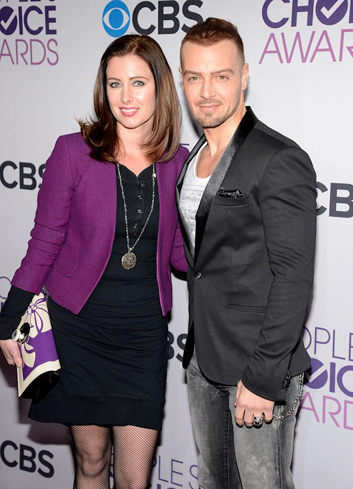 Joseph Lawrence attends the 2013 People's Choice Awards  at Nokia Theatre L.A. Live on January 9, 2013 in Los Angeles, California.