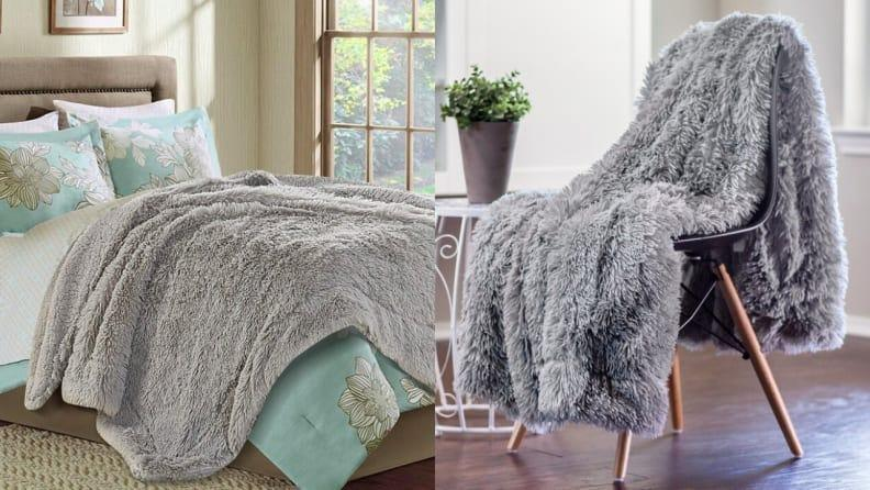 Your recipient will love cozying up with this throw blanket in the winter.