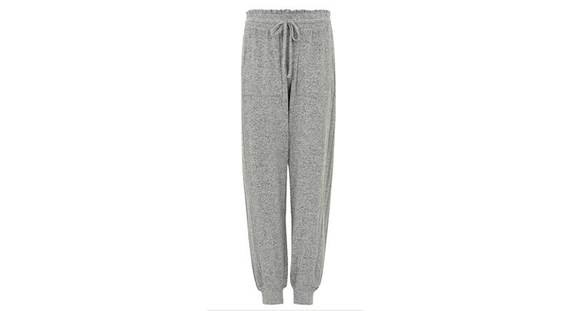 Cosy Knit Cuffed Hem Lounge Bottoms