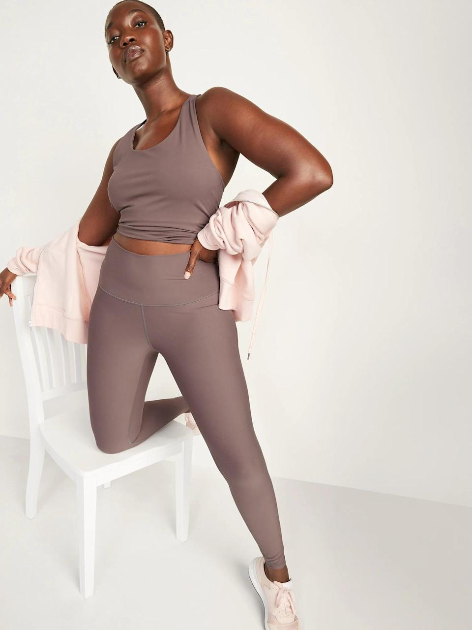 <p>I purchased the <span>High-Waisted Hidden-Pocket Leggings for Women</span> ($20-$40, originally $40) in this Mythical shade, and it goes with everything. </p>