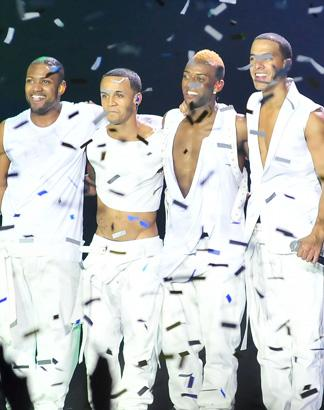 JLS' Oritse Groped By 'Cougars': 'She Had Her Hand In My Boxers'