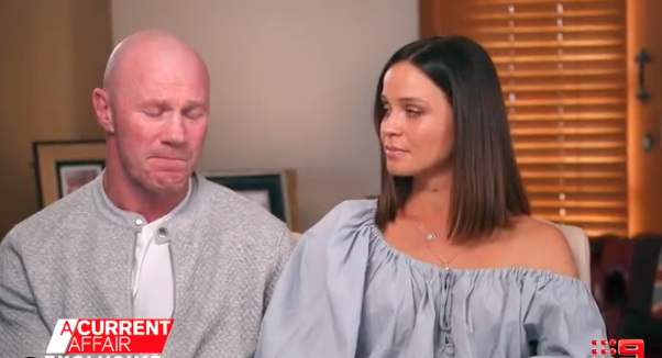 Lauren Brant and Barry Hall on A Current Affair