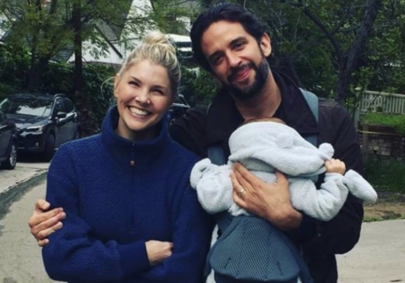 Amanda Kloots, Nick Cordero and their son, Elvis. (Photo: Amanda Kloots via Instagram)