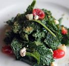 """<p>Creamy, tangy and salty, goat cheese makes any salad better, including this simple kale salad. <a href=""""https://www.thedailymeal.com/how-make-vinaigrette?referrer=yahoo&category=beauty_food&include_utm=1&utm_medium=referral&utm_source=yahoo&utm_campaign=feed"""" rel=""""nofollow noopener"""" target=""""_blank"""" data-ylk=""""slk:Top with a homemade vinaigrette"""" class=""""link rapid-noclick-resp"""">Top with a homemade vinaigrette</a> of your choosing, serve with grilled fish or chicken and enjoy.</p> <p><a href=""""https://www.thedailymeal.com/best-recipes/baby-kale-goat-cheese-salad?referrer=yahoo&category=beauty_food&include_utm=1&utm_medium=referral&utm_source=yahoo&utm_campaign=feed"""" rel=""""nofollow noopener"""" target=""""_blank"""" data-ylk=""""slk:For the Baby Kale and Goat Cheese Salad recipe, click here."""" class=""""link rapid-noclick-resp"""">For the Baby Kale and Goat Cheese Salad recipe, click here.</a></p>"""