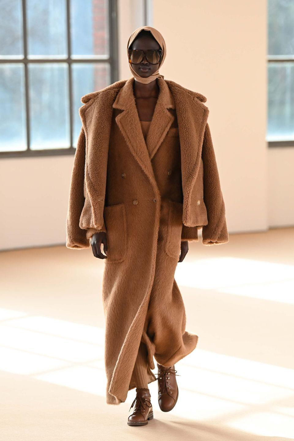 "<p>The autumn/winter 2021 collection marks the 70th anniversary of Max Mara, which, in its own words, has ""come a long way since 1951"" – but is still embracing the same aesthetic: ""Britannic style with an Italian accent; authentic, sometimes eccentric. It's been a recurring theme at Max Mara right from the start and it's the backbone of the anniversary collection.""</p>"