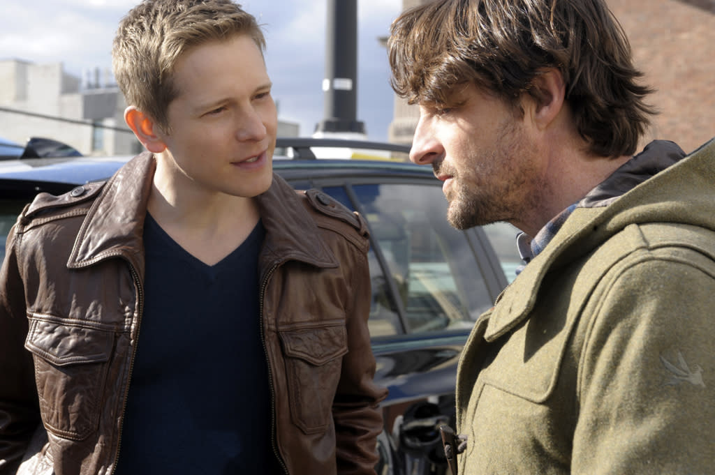 "Cary (Matt Czuchry) turns to his friend, investigator Andrew Wiley (Tim Guinee), for help in a personal matter in ""Battle of the Proxies,"" the tenth episode of ""The Good Wife"" Season 4."