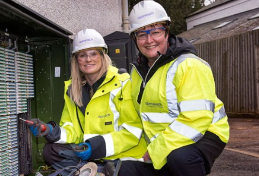 BT joins other companies including supermarkets Sainsbury and Lidl in rewarding their staff. Photo: Openreach