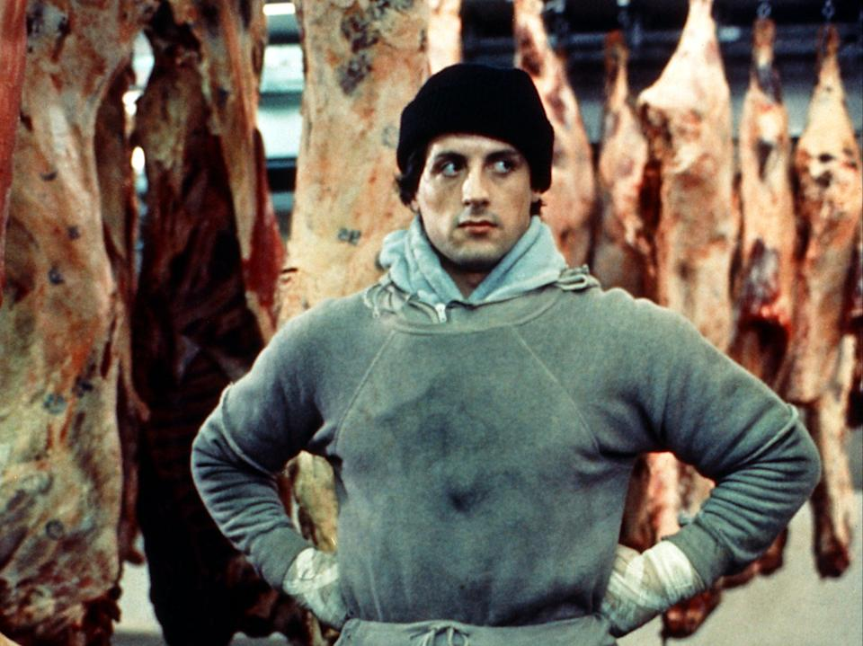 Sylvester Stallone in 'Rocky' (MGM)