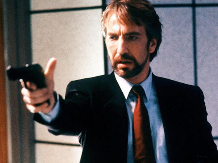 die hard movie alan rickman