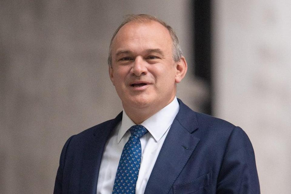 Targeting the Tories: Sir Ed Davey (PA Wire)