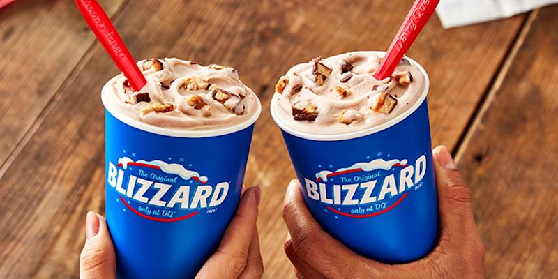 Astounding Dairy Queen Is Offering Bogo For 0 80 On All Of Its Blizzards For Personalised Birthday Cards Cominlily Jamesorg