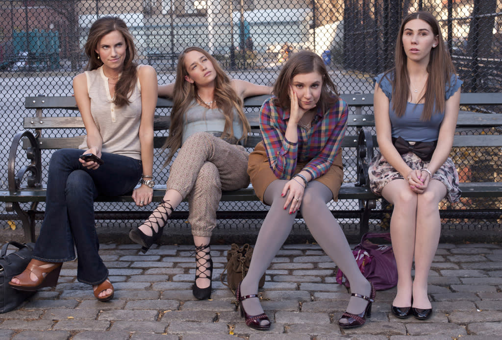 "<b>""Girls"" (Comedy Series) </b><br><br>With ""The Office"" and ""30 Rock"" fading fast, there's definitely room for new blood in the Best Comedy Series race -- and we've been champions of HBO's fresh and frank new series since day one, so why stop now? With its keenly observed portrait of young Brooklyn hipsters figuring out life on the fly, ""Girls"" struck that perfect ratio of laughs to heart that producer Judd Apatow first found on ""Freaks and Geeks."" But this is definitely Lena Dunham's show; her work here as star/writer/director is revelatory, and deserving of Emmy gold."