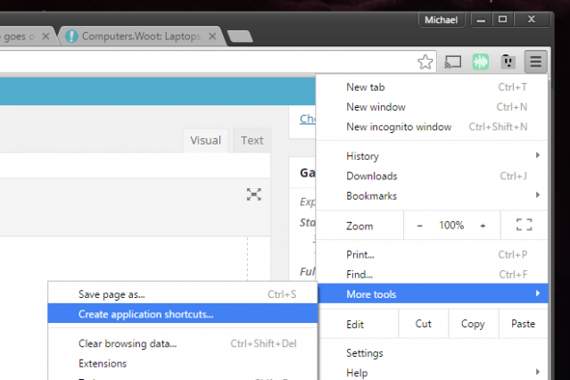 How to enable and disable notifications in the Chrome browser