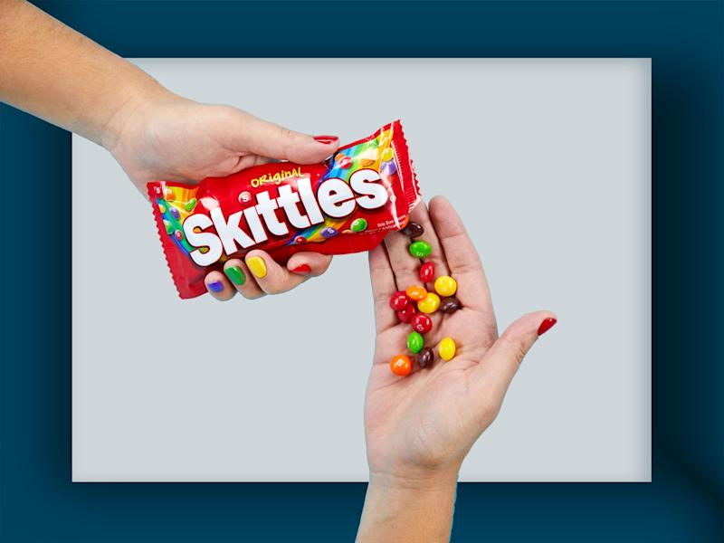 Yellow Is the Least Popular Skittles Color (According to Skittles)