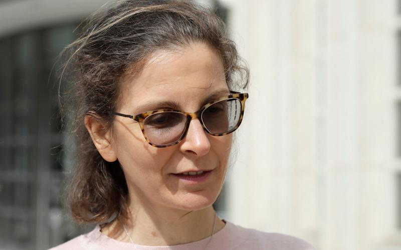 """Bronfman pictured last year. She said: """"All over the world, people are praying for me because they know my goodness"""" - AP"""