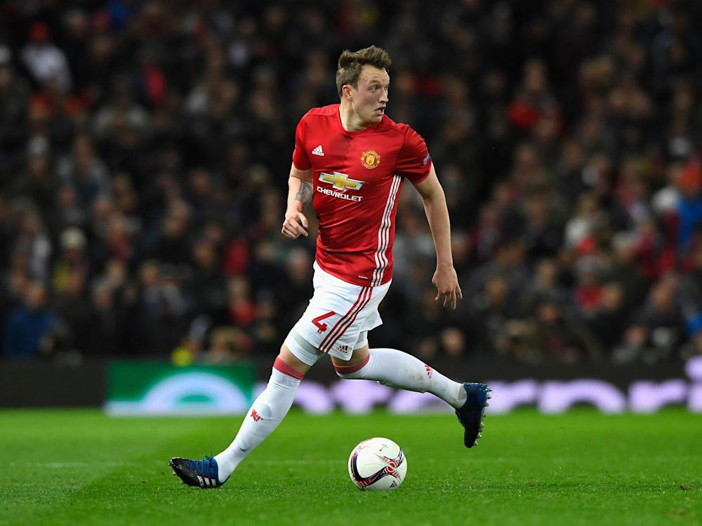 Phil Jones has finally got back to full fitness and United and England are set to benefit: Getty