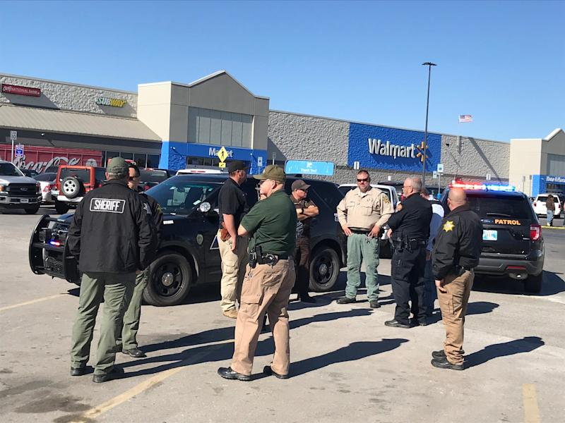 Three people were killed Nov. 18 in a shooting at a Walmart in Duncan, Okla., police said.