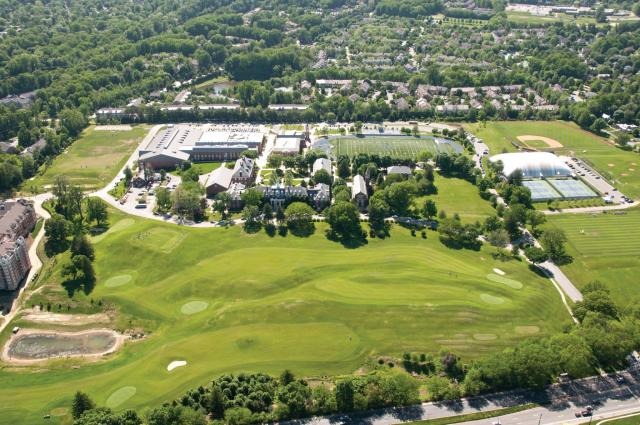 An aerial view of Georgetown Preparatory School. (Photo: Facebook)