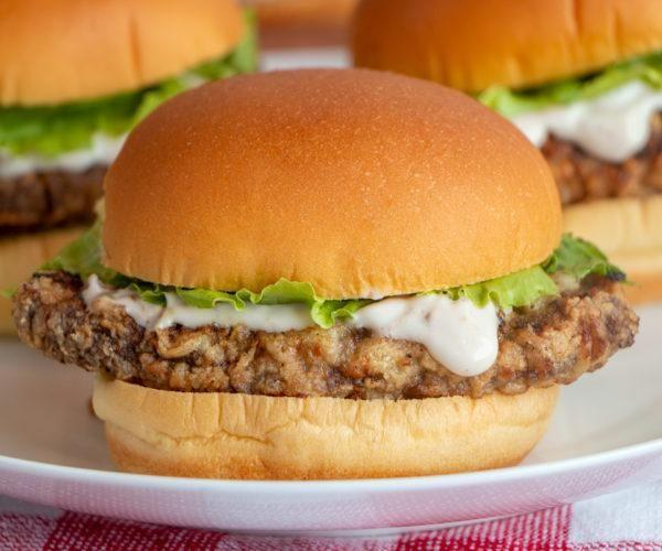 """<p><strong>Chicken-Fried Steak Sandwich</strong></p><p>Chicken-Fried Steak Sandwich has been part of Oklahoma's official state meal (along with fried okra, cornbread and black-eyed peas) since 1988. With Route 66 appeal, <a href=""""http://www.theroadwanderer.net/66Oklahoma/annschickenfry.htm"""" rel=""""nofollow noopener"""" target=""""_blank"""" data-ylk=""""slk:Ann's Chicken Fry House"""" class=""""link rapid-noclick-resp"""">Ann's Chicken Fry House</a> serves the first-in-class sandwiches in the region.</p>"""