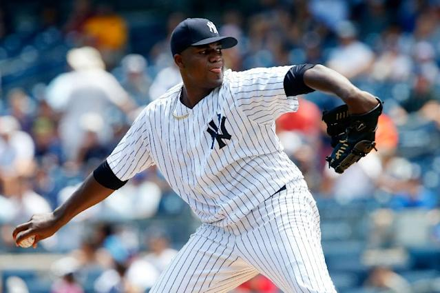 The Twins have signed ex-Yankees pitcher Michael Pineda to a two-year deal, but he'll miss 2018 after Tommy John surgery. (AFP)