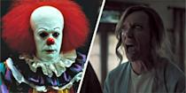 """<p>Who's ready for to feel scared silly? Well you're in luck because we've gathered together all the best horror movies for you. If you're in the market for a funny/scary/thought-provoking horror movie, why not try <a href=""""https://www.cosmopolitan.com/uk/entertainment/g12464718/best-horror-movies/?slide=1"""" rel=""""nofollow noopener"""" target=""""_blank"""" data-ylk=""""slk:Jordan Peele's Get Out"""" class=""""link rapid-noclick-resp"""">Jordan Peele's Get Out</a>? Or if you're in the mood for spending two and a half hours hiding behind your hands, then perhaps pop Stanley Kubrick's classic <a href=""""https://www.cosmopolitan.com/uk/entertainment/g12464718/best-horror-movies/?slide=12"""" rel=""""nofollow noopener"""" target=""""_blank"""" data-ylk=""""slk:The Shining"""" class=""""link rapid-noclick-resp"""">The Shining </a>on your list. And if you want pure horror movie gore à la <a href=""""https://www.cosmopolitan.com/uk/entertainment/g12464718/best-horror-movies/?slide=17"""" rel=""""nofollow noopener"""" target=""""_blank"""" data-ylk=""""slk:Hostel"""" class=""""link rapid-noclick-resp"""">Hostel</a>, we've got lots more like that, too. Yup. </p><p>Check out 84 of the best horror movies ever right here, because, er, there's a scary film for every occasion? The best part is you can get horror movies on every streaming service, which means you can hide behind your sofa and freak yourself out on Netflix, Amazon Prime and even NOW.</p>"""