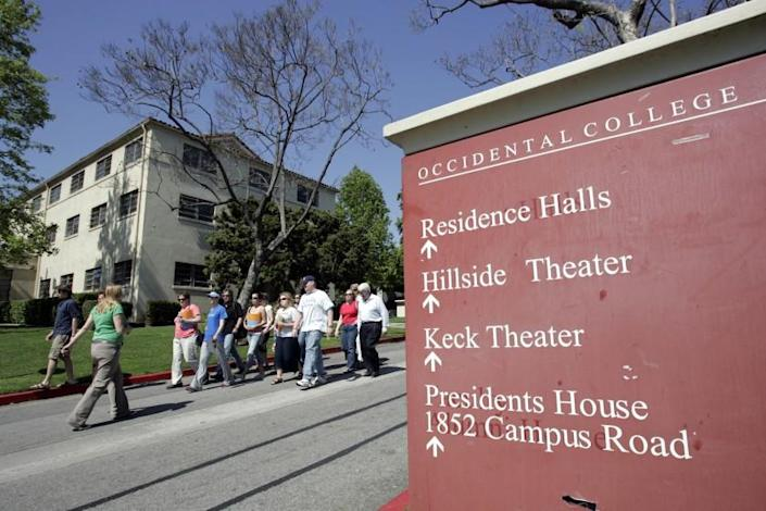 In what appears to be a national first among colleges and universities, Occidental College has banned any future investments in companies that manufacture military-style assault weapons.