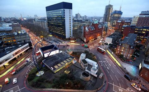 Silicon Roundabout - Credit: Bloomberg