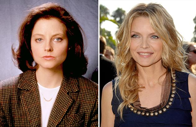 """Michelle Pfeiffer was offered the role Jodie Foster scored an Oscar for in """"Silence of the Lambs,"""" but Pfeiffer turned it down because it was too violent."""