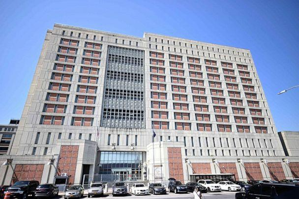 PHOTO: The Metropolitan Detention Center in Brooklyn, a United States federal administrative detention facility is pictured on July 6, 2020, in New York City. (Johannes Eisele/AFP via Getty Images)