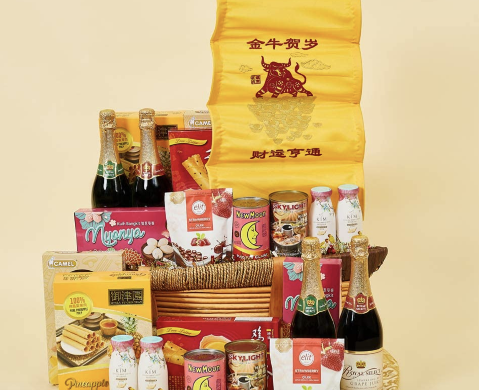 Prosperous hamper. (PHOTO: Amazon)