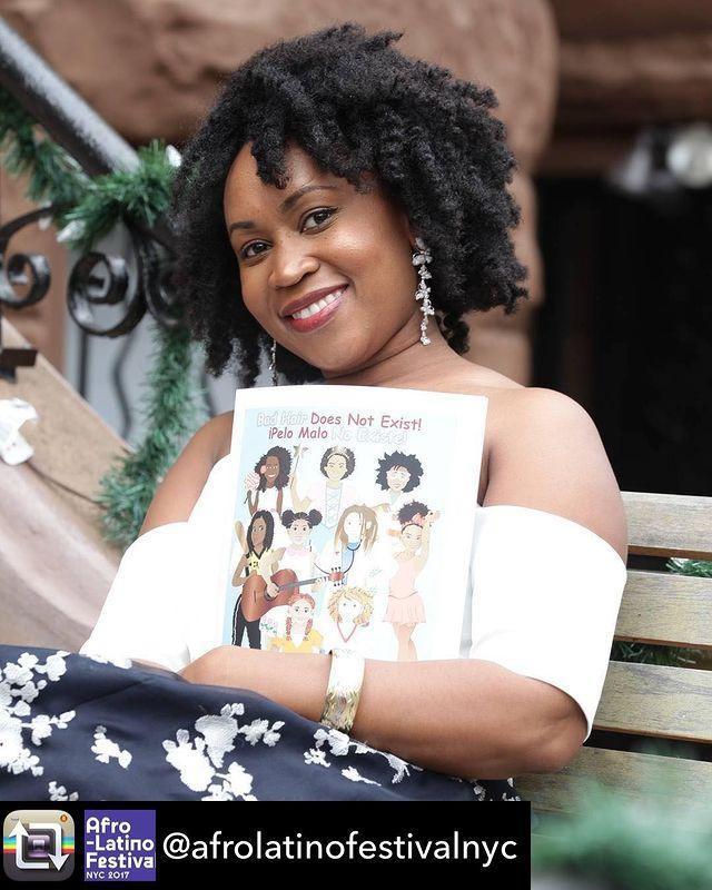 <p>Arzu-Brown, an Afro-Honduran author of Garifuna descent, wrote a bilingual children's book called <em>Bad Hair Does Not Exist/Pelo Malo No Existe</em>, to encourage women of all ages to love their natural hair.</p>