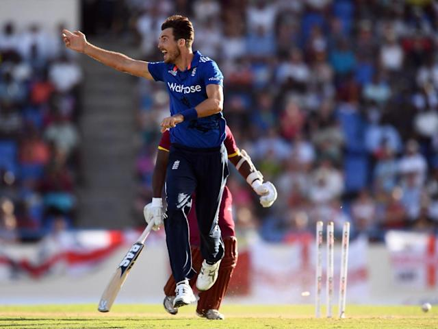 Finn played in England's recent ODI series and is still very much in the international picture (Getty)