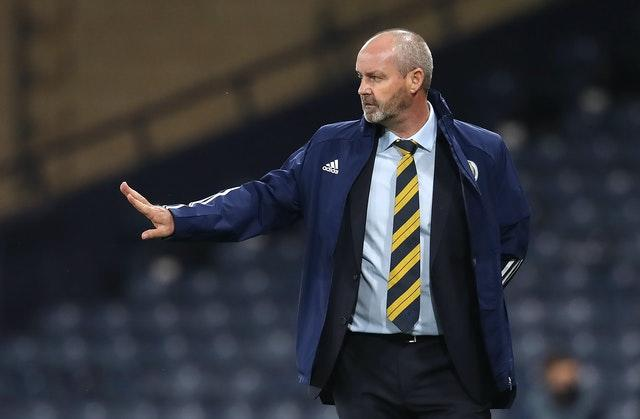 Steve Clarke saw Scotland draw 1-1 at home to Israel in the Nations League on Friday