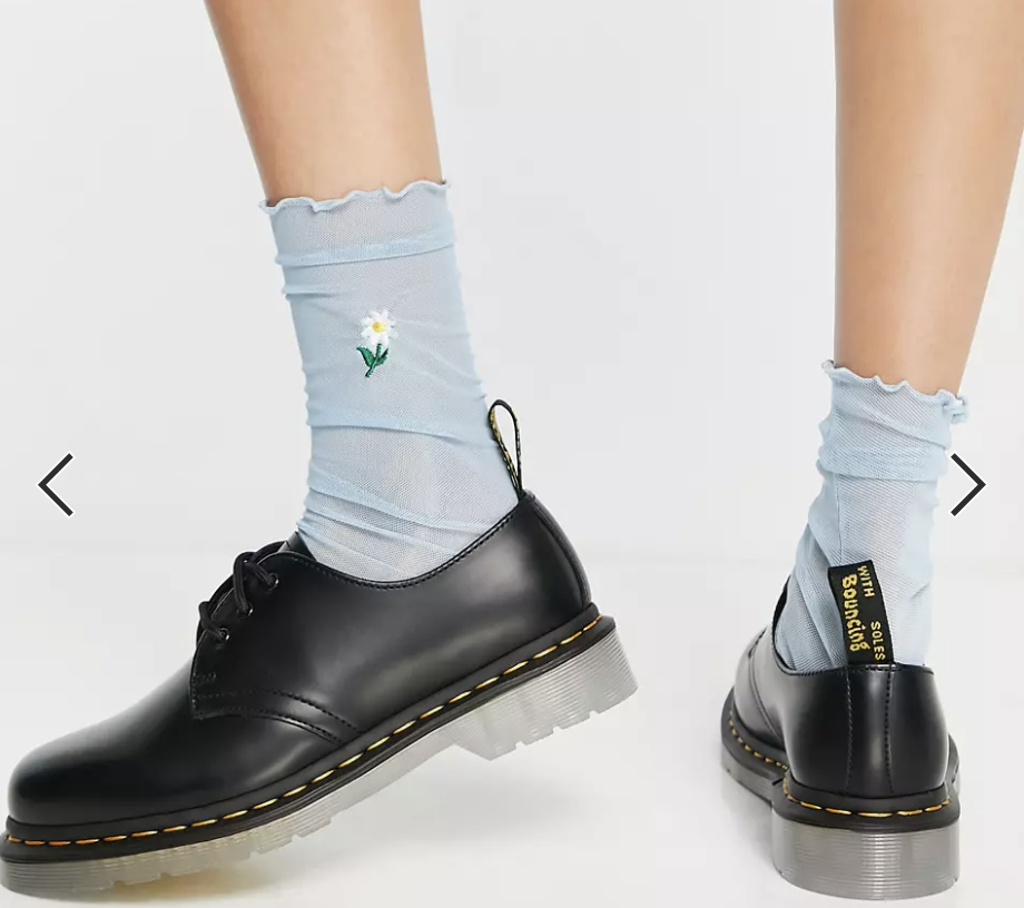 PHOTO: ASOS. Dr Martens 1461 Iced shoes