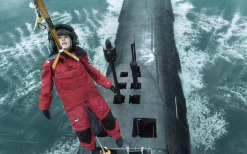 Suranne Jones's character is sent to the fictional submarine HMS Vigil to investigate a death on board, which takes place shortly after the mysterious disappearance of a Scottish fishing trawler - World Productions