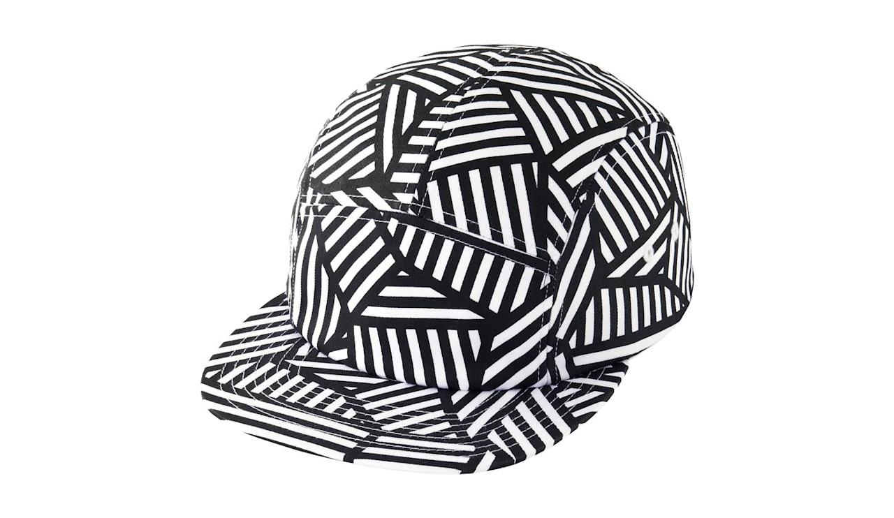 """<p>Known for his large scale graphic drawings done directly on the gallery or museum wall, Lewitt's works can be seen at some of the most prestigious museums in the world, including Dia Beacon and Mass Moca, and now, on your head.</p><p><em>$20, buy now at <a rel=""""nofollow"""" href=""""https://www.uniqlo.com/us/en/sprz-ny-super-geometric-cap-sol-lewitt-198965COL00SIZ999000.html?gclid=Cj0KEQjw8tbHBRC6rLS024qYjtEBEiQA7wIDeebJX02wvrLuKR4U4Rnpn92bsMAq-l_NfyHZAv6_FF8aAtWJ8P8HAQ&mbid=synd_yahoostyle"""">Uniqlo</a></em></p>"""