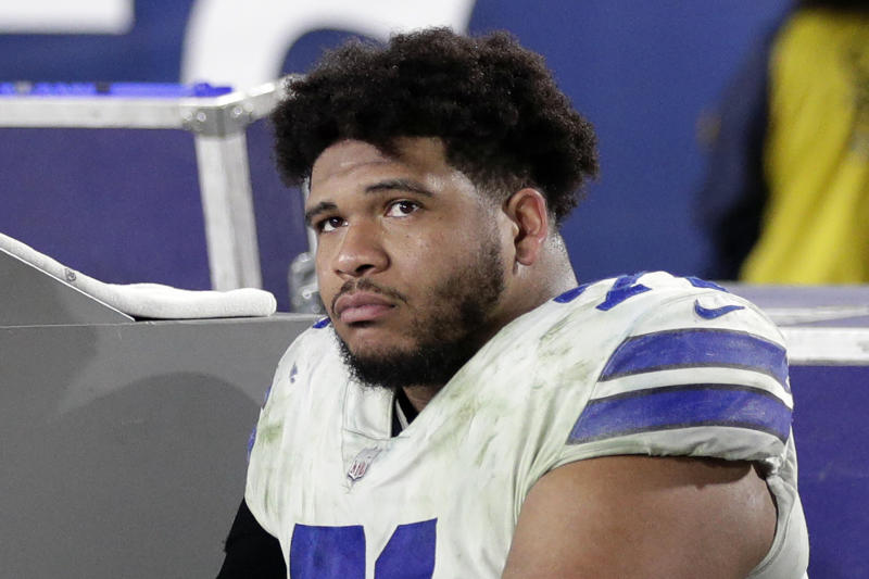 Dallas Cowboys tackle La'el Collins will start this season on injured reserve. (AP Photo/Jae C. Hong, File)