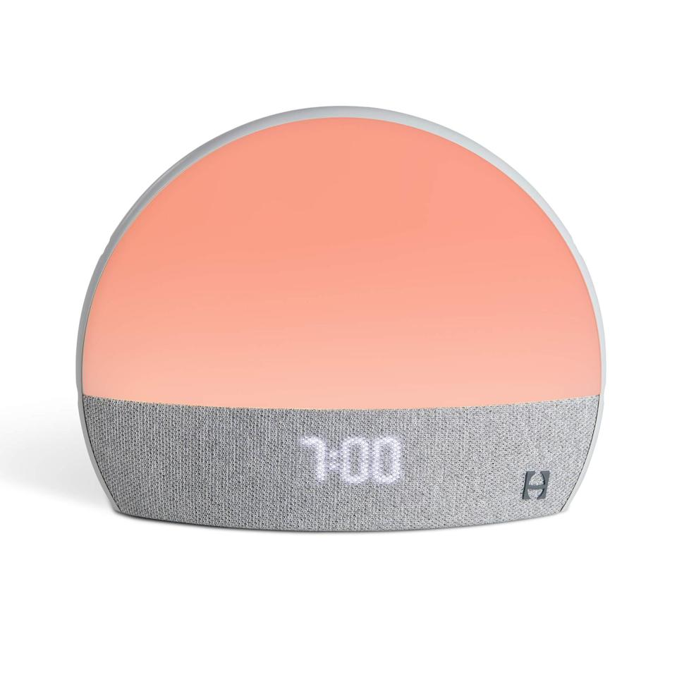 """<h2>$20 Off Hatch Restore Smart Alarm Clock </h2><br>Nab $20 off this <a href=""""https://www.refinery29.com/en-us/mvp-awards-2020"""" rel=""""nofollow noopener"""" target=""""_blank"""" data-ylk=""""slk:R29-MVP-award-winning smart clock"""" class=""""link rapid-noclick-resp"""">R29-MVP-award-winning smart clock</a> that combines the powers of a sun-simulation light with a soothing sound machine and a meditation app to do everything from help you fall asleep, stay asleep, and wake feeling calm and well-rested.<br><br><em>Shop</em> <em><strong><a href=""""https://amzn.to/2SewdJ1"""" rel=""""nofollow noopener"""" target=""""_blank"""" data-ylk=""""slk:Hatch"""" class=""""link rapid-noclick-resp"""">Hatch</a></strong></em><br><br><strong>HATCH</strong> Hatch Restore Smart Alarm Clock, $, available at <a href=""""https://amzn.to/2SewdJ1"""" rel=""""nofollow noopener"""" target=""""_blank"""" data-ylk=""""slk:Amazon"""" class=""""link rapid-noclick-resp"""">Amazon</a>"""