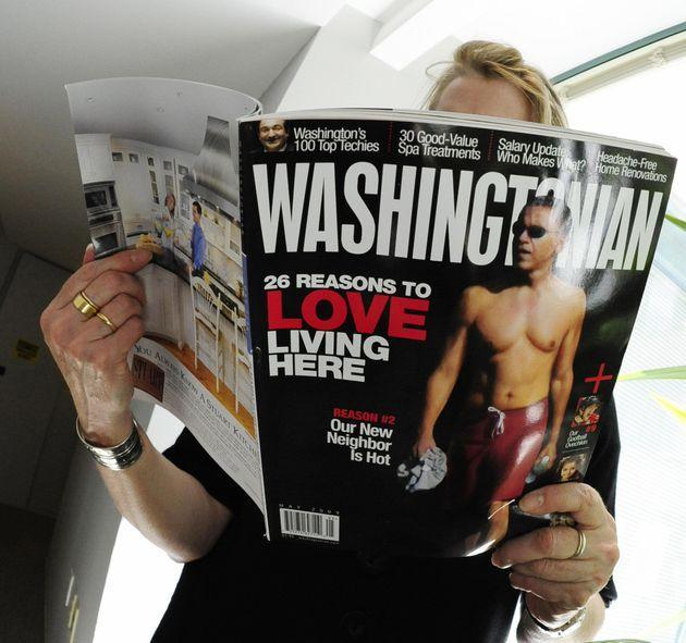 As the staff of Washingtonian magazine attempts to form a union, the CEO is running a full-court press against the effort. (Photo: KAREN BLEIER via Getty Images)
