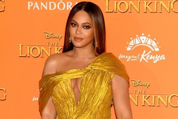 Beyoncé on 14 July 2019 in London: Gareth Cattermole/Getty Images for Disney