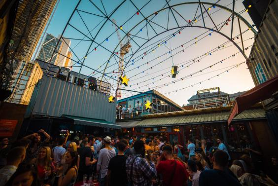 Dinerama is located in the heart of east London (Dinerama)