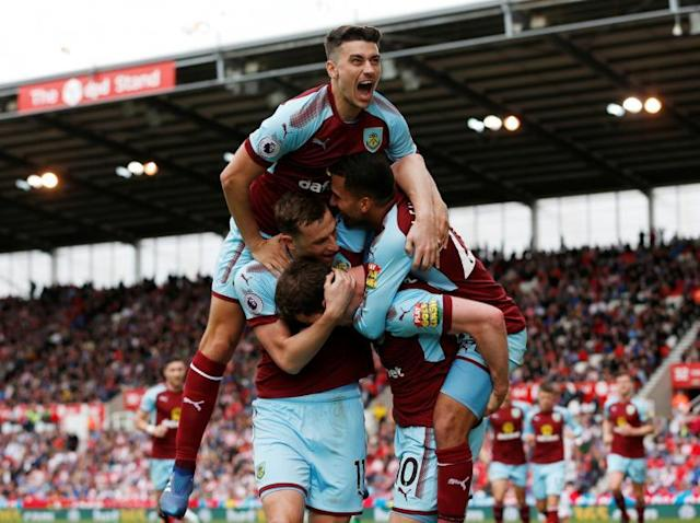 Ashley Barnes salvages point for Burnley to leave Stoke staring into the abyss