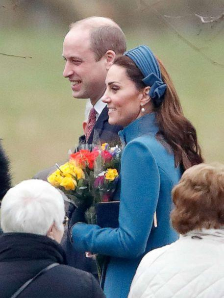 PHOTO: Prince William, Duke of Cambridge and Catherine, Duchess of Cambridge attend Sunday service at the Church of St Mary Magdalene on the Sandringham estate on in King's Lynn, England, Jan. 6, 2019. (Indigo via Getty Images, FILE)