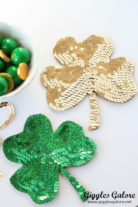 """<p>These sequined showstoppers not only glimmer—they'll also give your green beer a place to rest.</p><p><strong>Get the tutorial at <a href=""""https://gigglesgalore.net/diy-shamrock-coasters"""" rel=""""nofollow noopener"""" target=""""_blank"""" data-ylk=""""slk:Giggles Galore"""" class=""""link rapid-noclick-resp"""">Giggles Galore</a>.</strong></p><p><a class=""""link rapid-noclick-resp"""" href=""""https://www.amazon.com/s?k=craft+corkboard+material&tag=syn-yahoo-20&ascsubtag=%5Bartid%7C2164.g.35012898%5Bsrc%7Cyahoo-us"""" rel=""""nofollow noopener"""" target=""""_blank"""" data-ylk=""""slk:SHOP CORK BOARD"""">SHOP CORK BOARD </a><br></p>"""