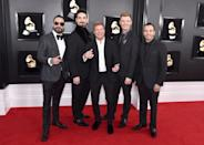 <p>Backstreet Boys attend the 61st annual Grammy Awards at Staples Center on Feb. 10, 2019, in Los Angeles. </p>