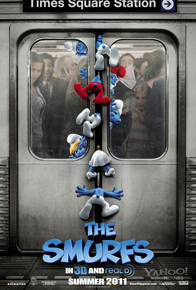 "The Worst:  <a href=""http://movies.yahoo.com/summer-movies/the-smurfs/1810033015"">THE SMURFS</a>    It's supposed to be cute, but it just looks like the scene of a really horrific accident in the making."