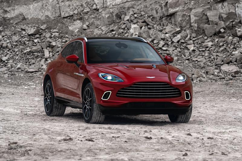 Aston Martin's luxury SUV DBX. Photo: Aston Martin