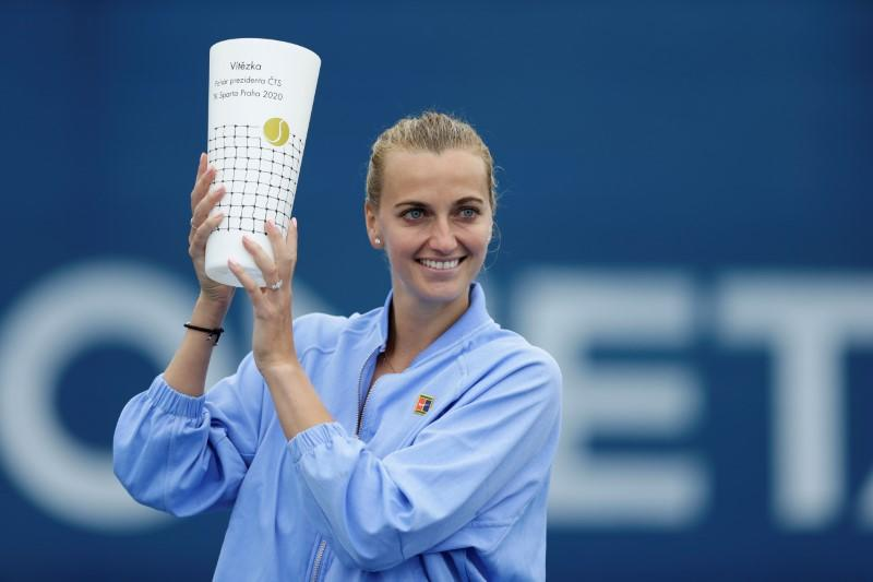 'Weird' playing without fans, but good to be playing again - Petra Kvitova