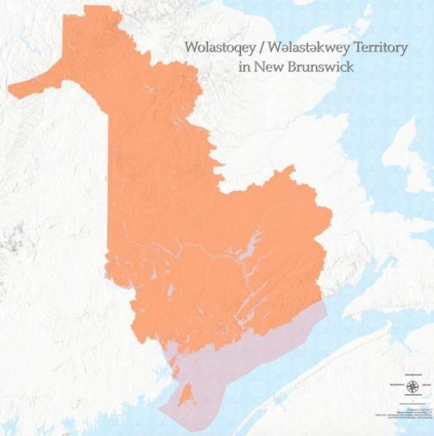 Wolastoqey Nation in New Brunswick